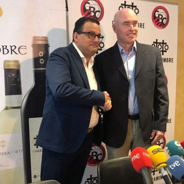 Carramimbre renueva como patrocinador principal del CBC Valladolid