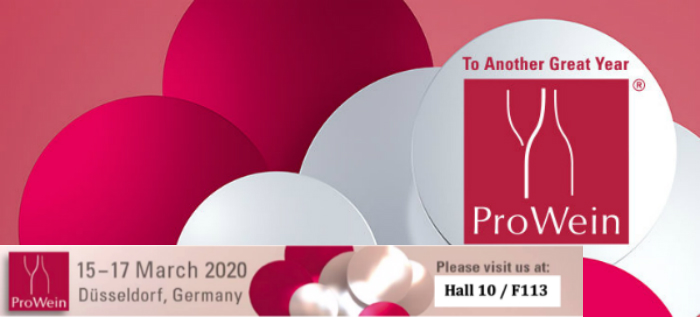 Come to visit us in Barcelona Wine Week and Prowein 2020